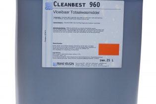 Cleanbest960 - Vloeibaar totaalwasmiddel