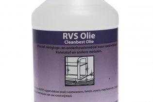 Cleanbest - RVS Olie