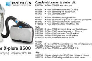 Dräger X-Plore 8500 unit